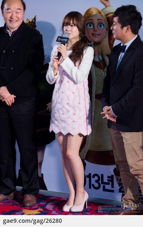 130117 눈의여왕 쇼케이스 박보영 직찍 & 직캠 by 버칼리