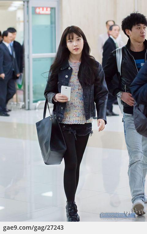 130201 김포공항 아이유 입국 직찍 by 버칼리