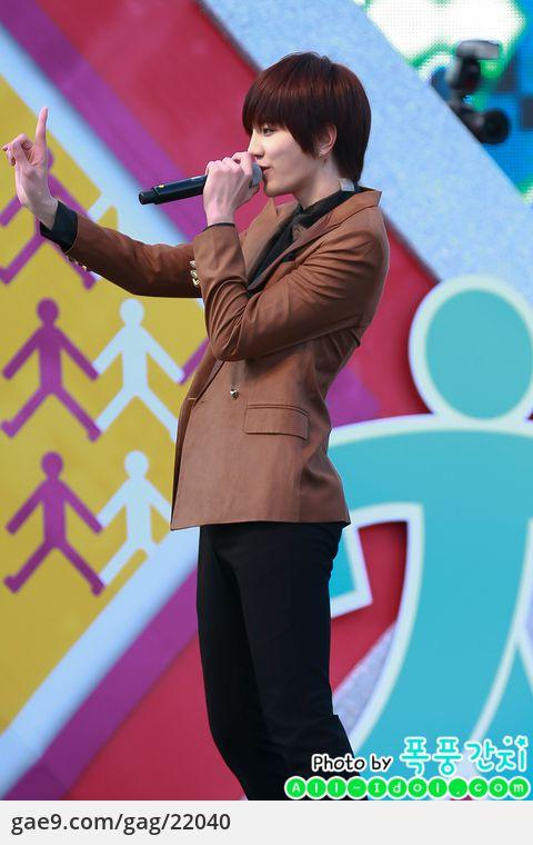 12/11/17 한류스타와 걷기대회 축하공연-인피니트