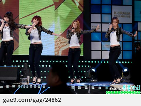 12/12/08 K-DRAMA STAR AWARDS-Girls Day