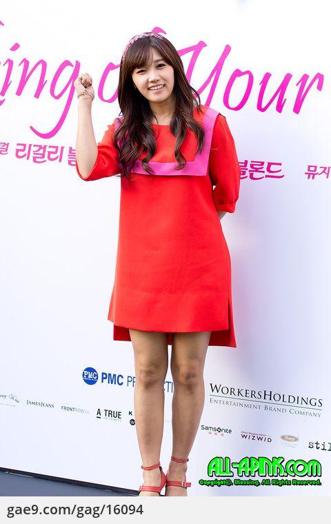 12/10/15 은지(A-Pink) 리걸리블론드(legally blonde) 제작발표회 by 블레싱