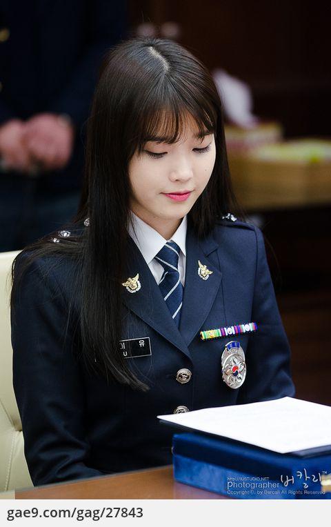 130215 명예경찰 위촉식 아이유 사진 by 버칼리