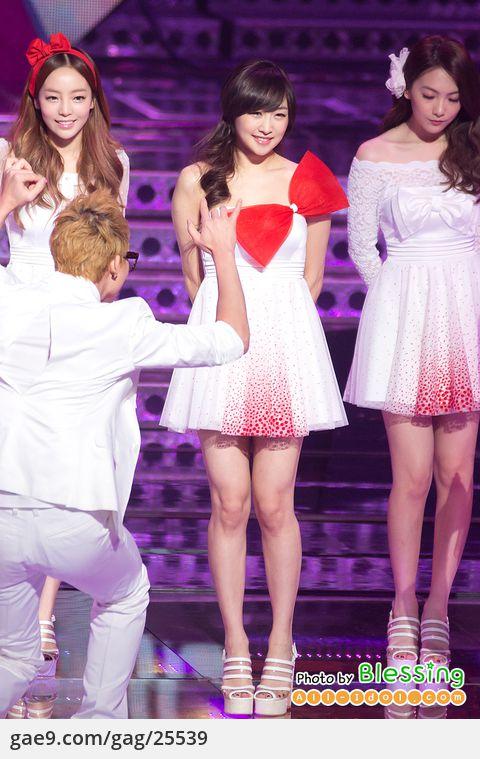 12/12/31 카라(Kara) MBC 가요대제전 by 블레싱