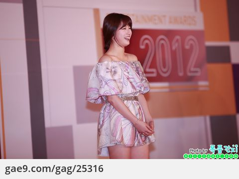 2012/12/30 SBS 연예대상 레드카펫-미쓰에이 수지