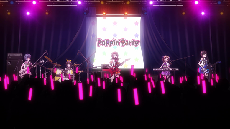 Poppin'Partyさん
