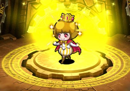 金粉王女メロール