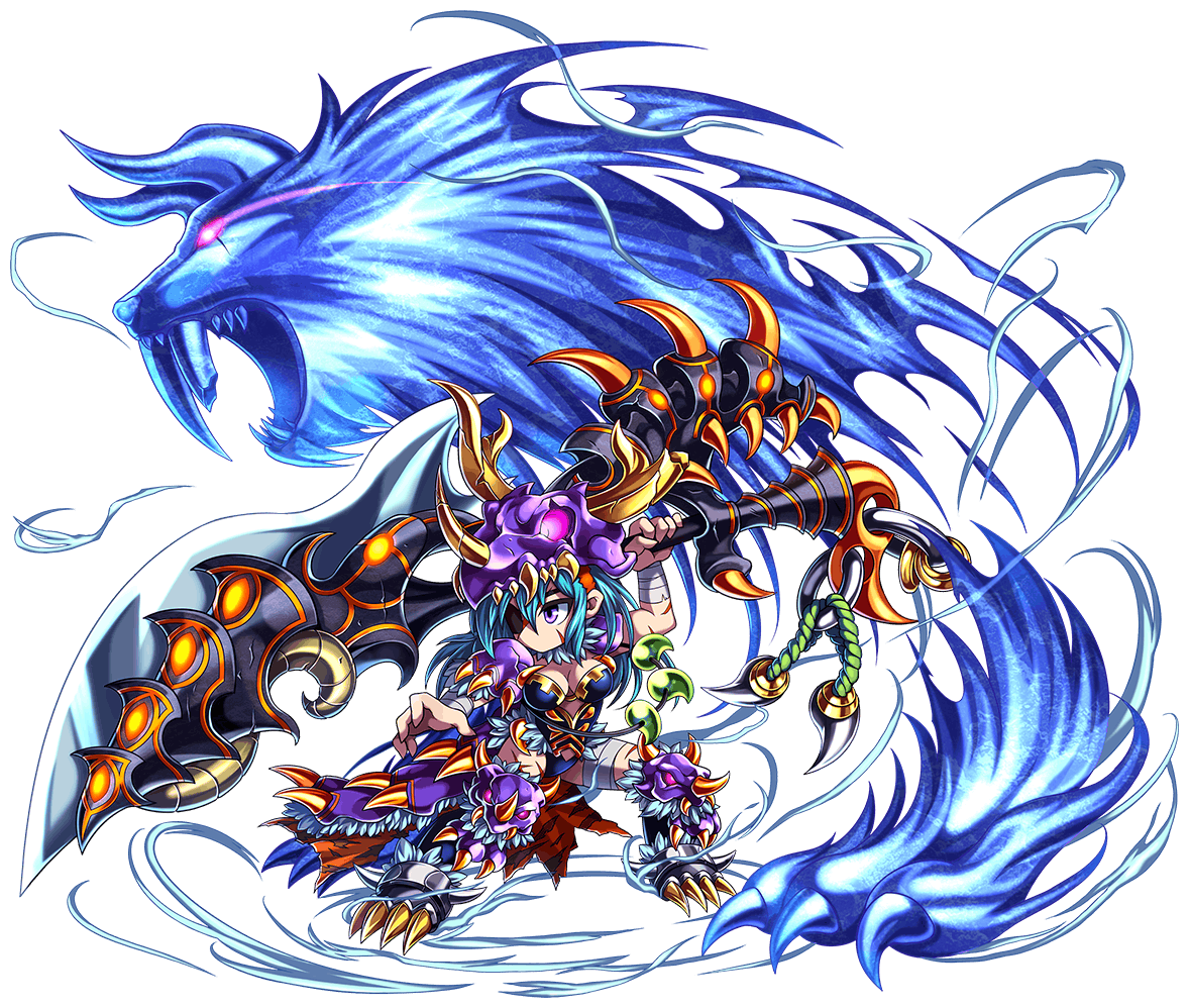 雪嵐の蒼牙獅シグネス