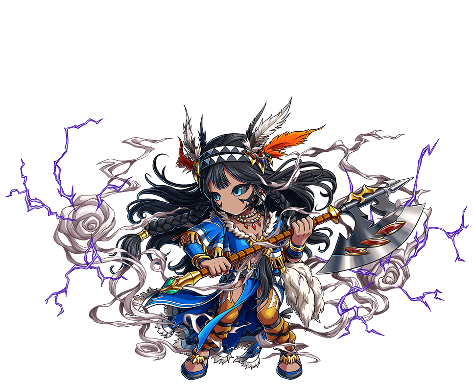 紫雷斧神マハル
