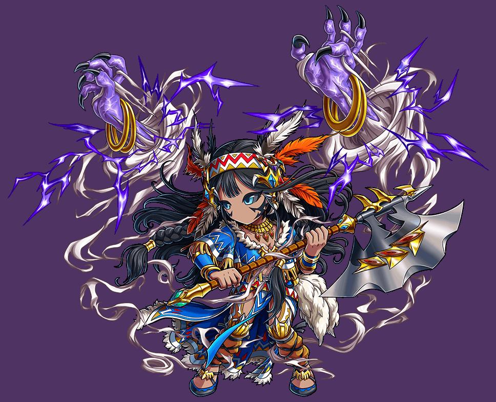 紫霆斧神マハル