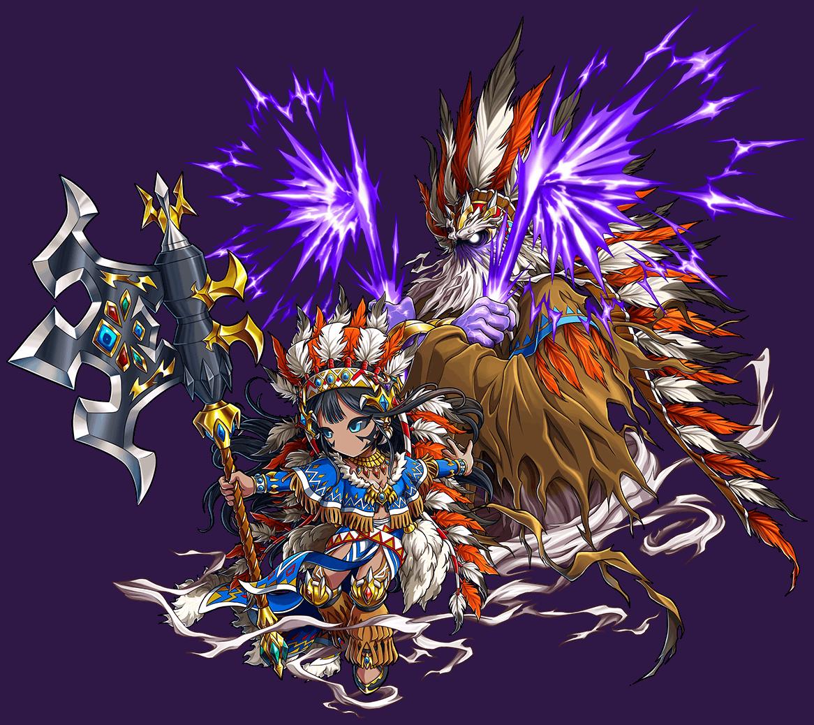 紫昏の創斧神マハル