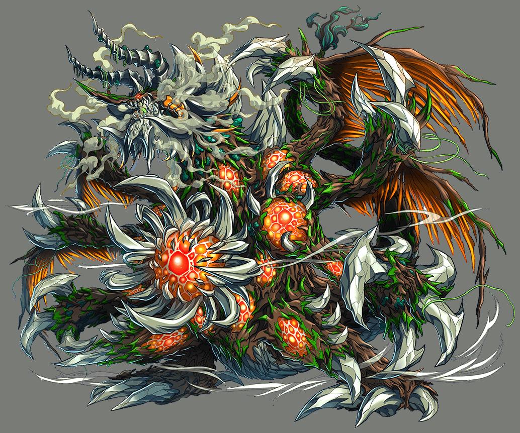 緑瘴竜神ラグザベラム