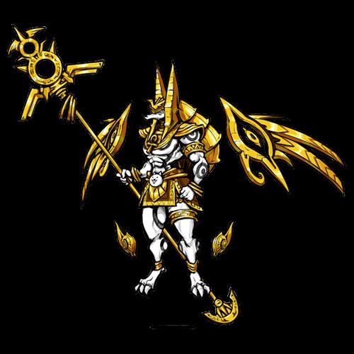 守護神アヌビス