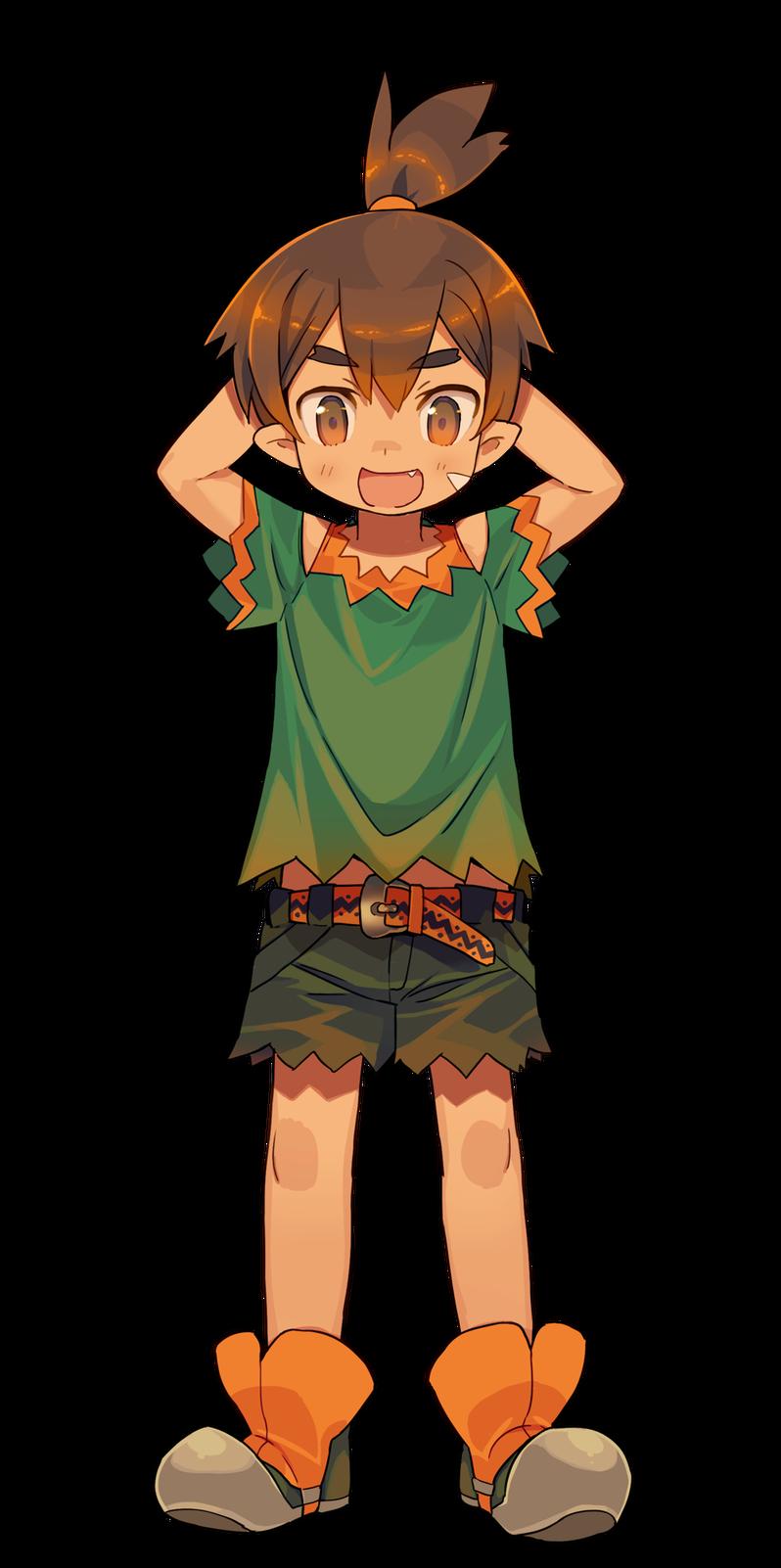 遊び盛りなドワーフ少年