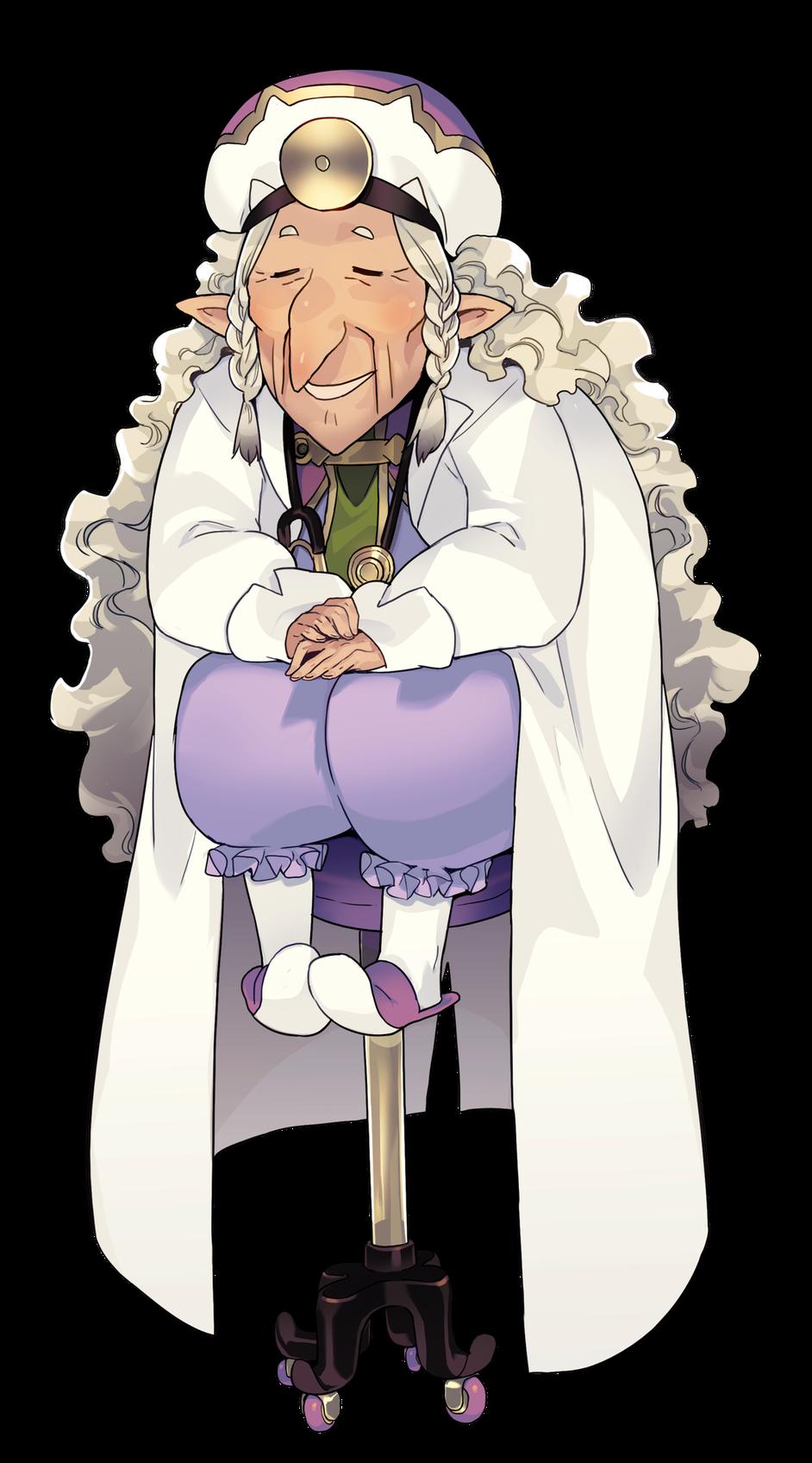 保健室のおばあちゃん