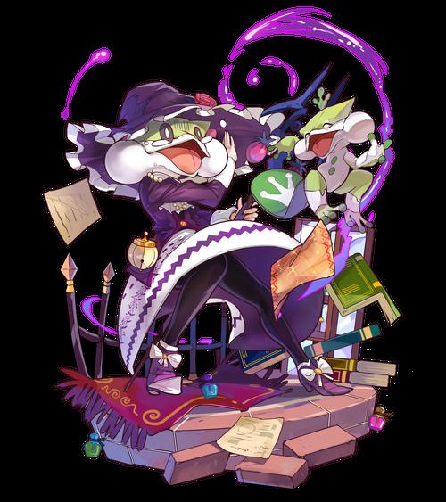 蛙頭の魔女フィルデア