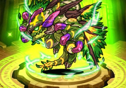 木の古代竜アルヴォール+