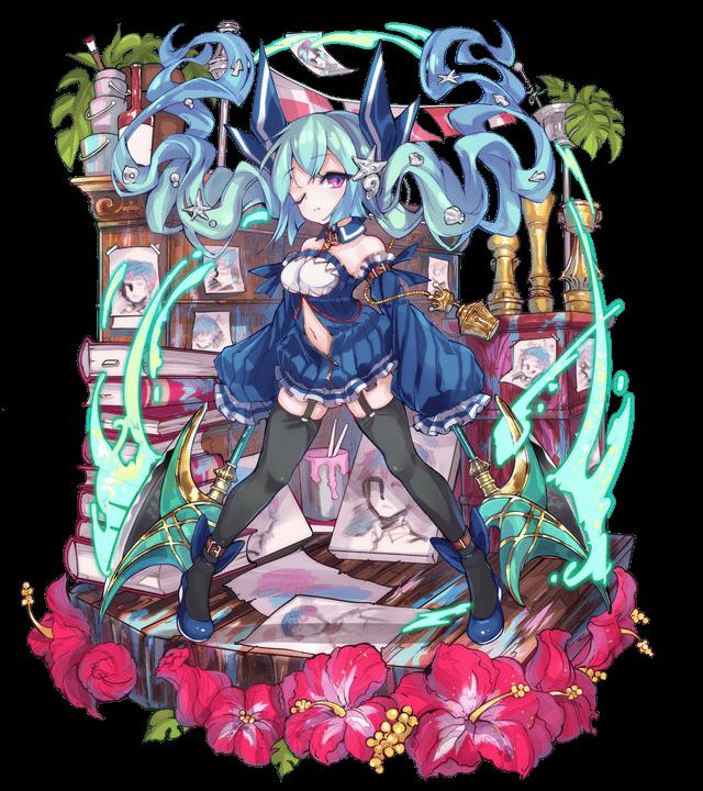 双牙の鮫姫チェリーピケ