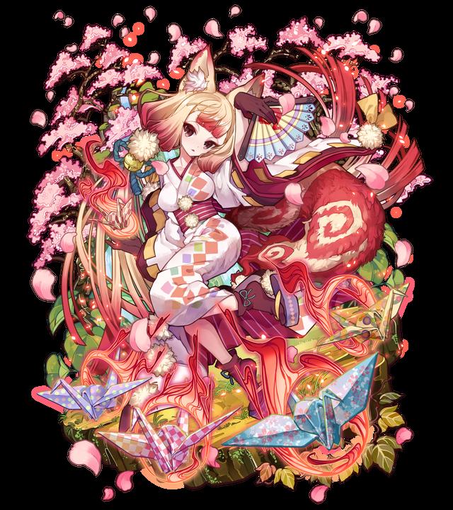 妖桜の狐火こんこ