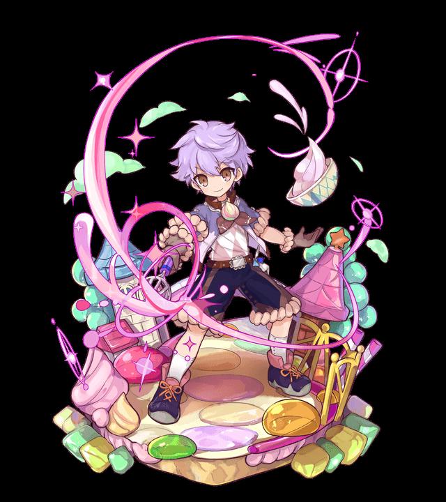 紫泡の術士メレンゲ