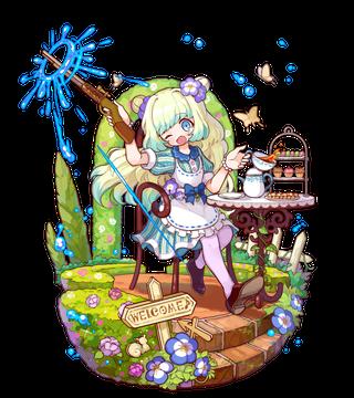 水銃の園芸家ネモフィラ