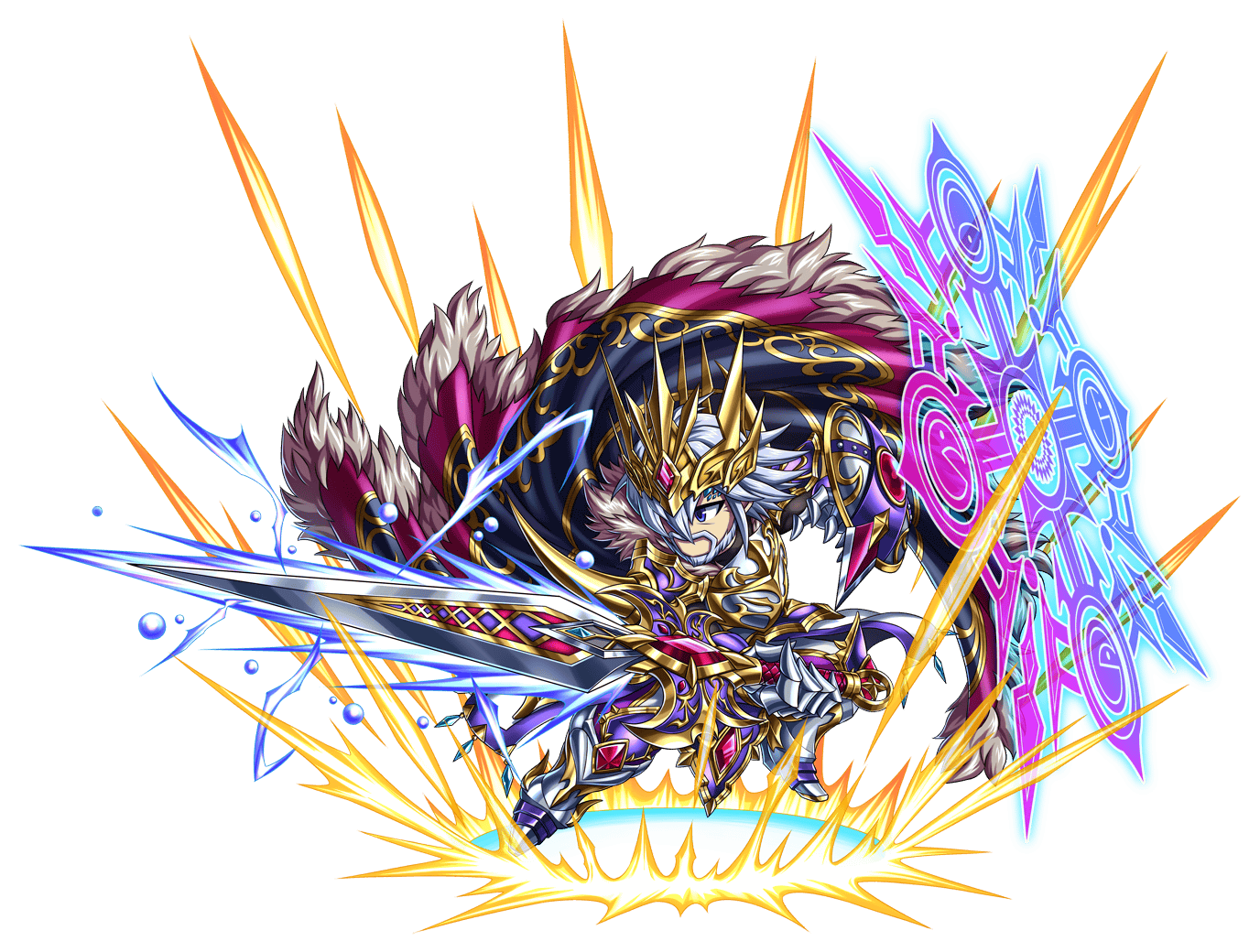 神勇蒼帝ガレル