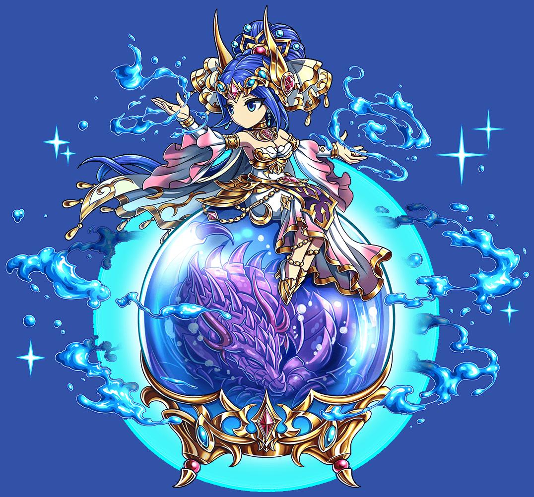蒼瞳の竜母神マリエラ
