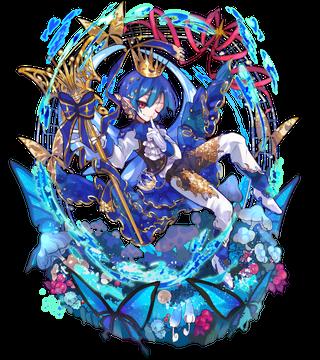 秋統べる藍翅ギフティペペ