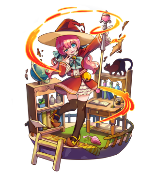 魔香の炎術士ルフィーナ