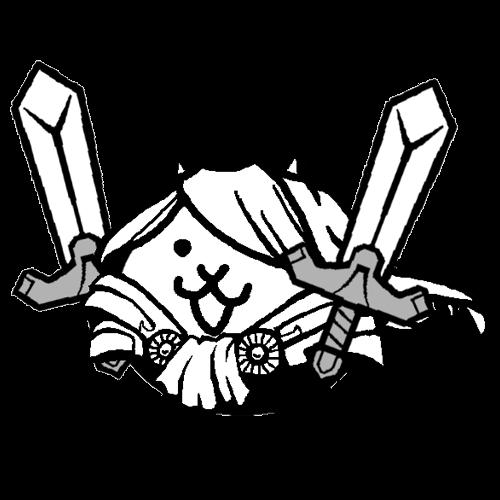 双剣ネコ魔剣士