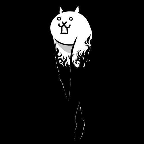 狂乱の美脚ネコ