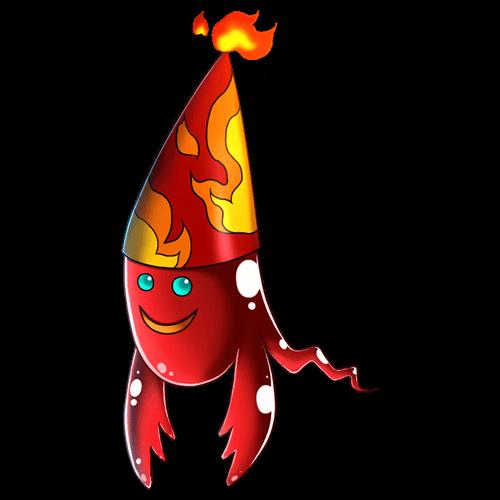 炎メタルゴースト