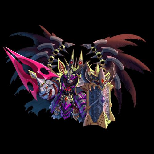 漆黒の魔神マグルス