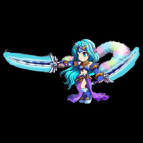 雪の女神エリザ