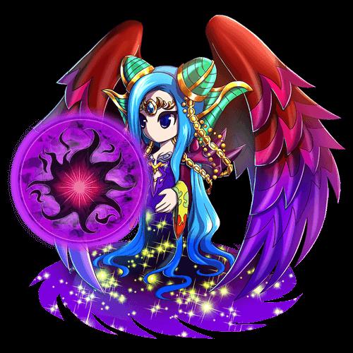 紫闇の女神マディア