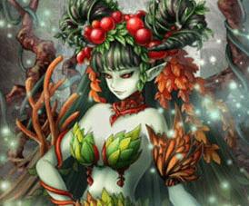 [深奥の霊姫] ドリアード