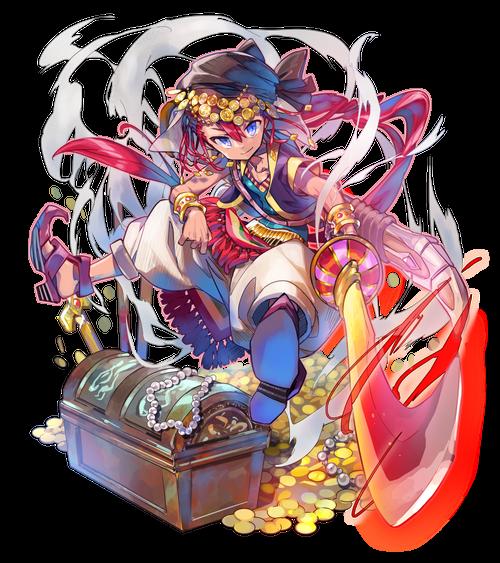 灼熱の剣豪モルーシャ