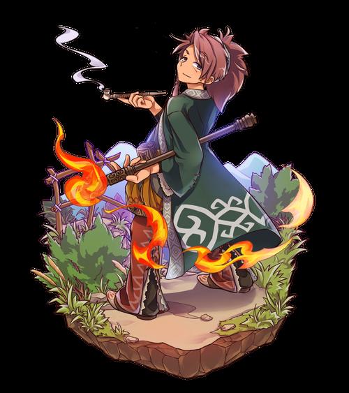 愛煙の焔術士ラディット