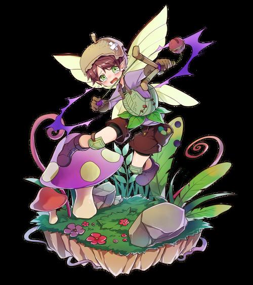 涙珠の小妖精イルリウ