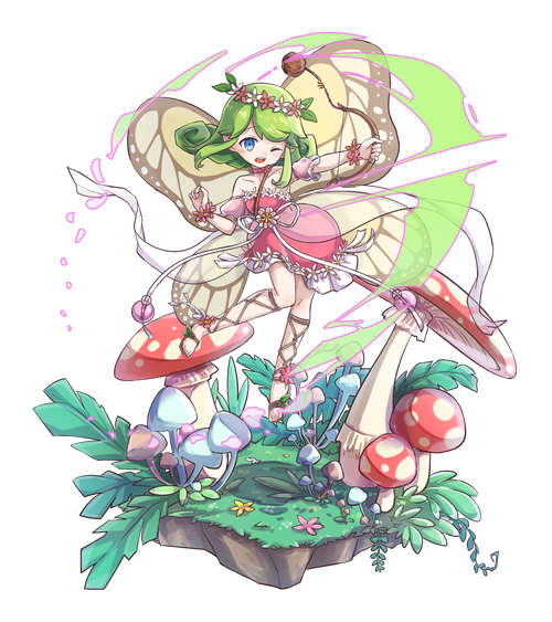 花冠の旅妖精チック