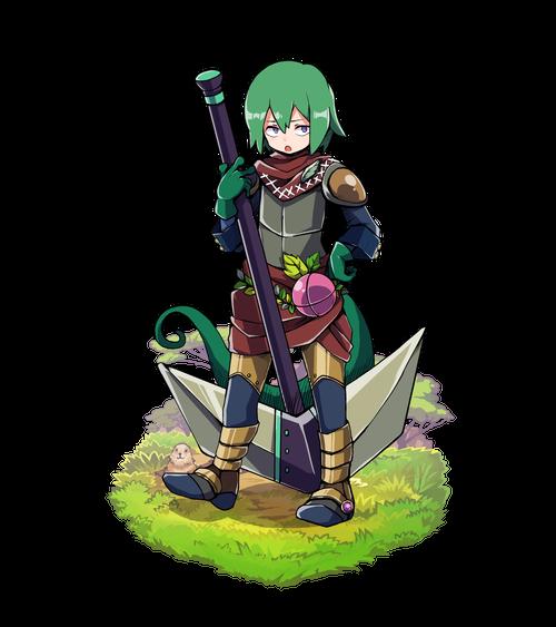深翠の重戦士レザール