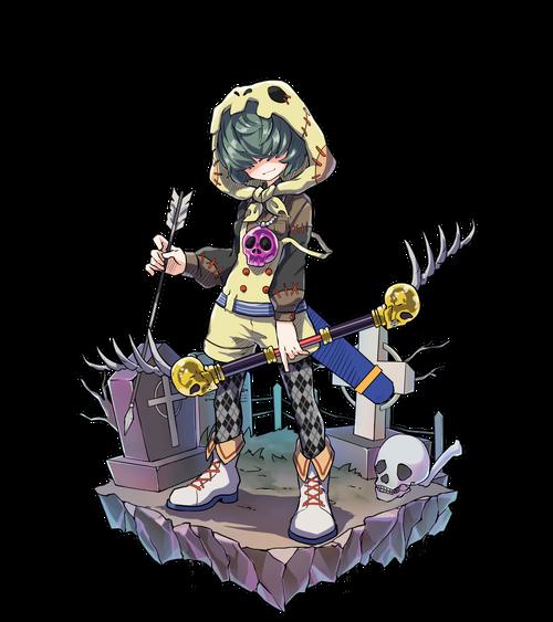 骨頭巾の弓士マノロ
