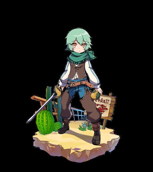淡緑の剣士ティンバー