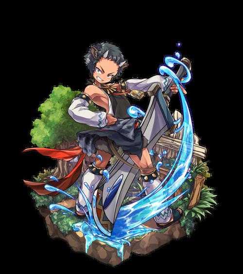 青角の重剣士ゾラン