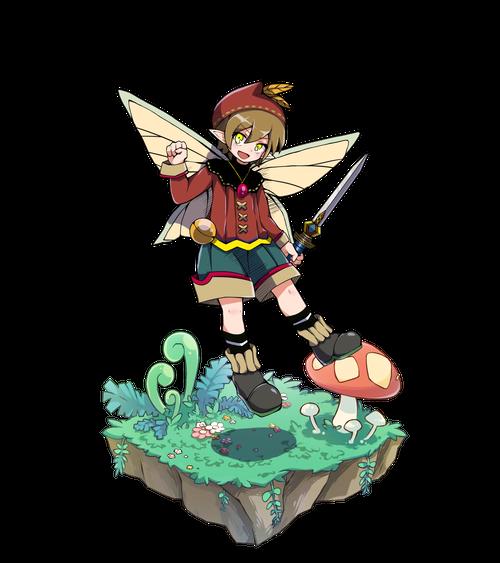 橙羽の剣士コナー