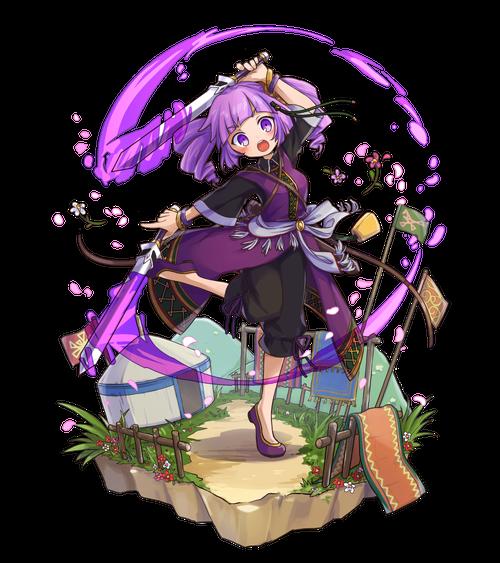 双紫剣の舞手ランファ