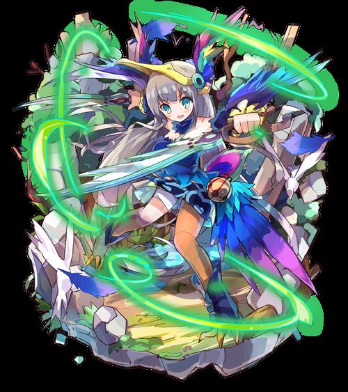 麗晶の寵愛者オルニシア
