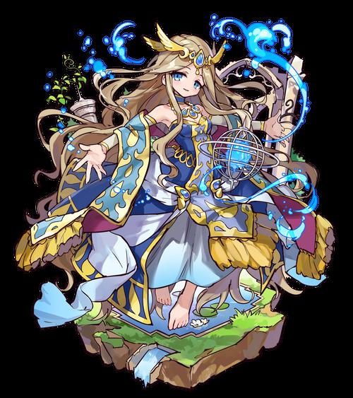 創在の水姫ベルダンディ