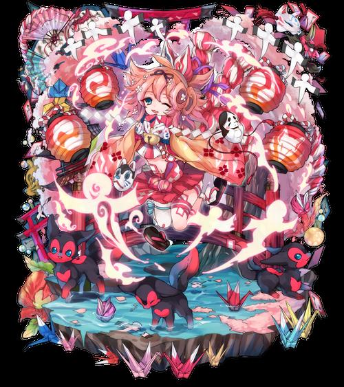 桜燃ゆ舞巫女キクミコマチ