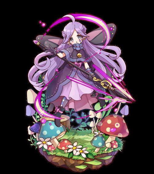 朝露の紫槍士メイ
