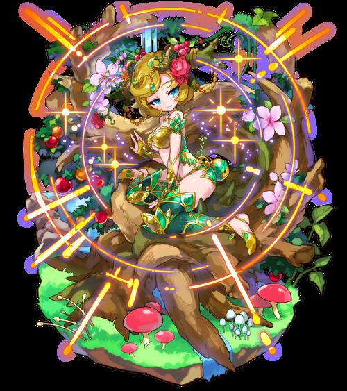 神木の精霊ドリアード